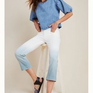 Anthropologie Pilcro NWT High Rise Dip Dyed Jeans✨